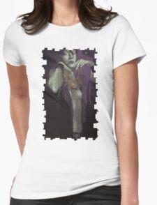 Morrigan Tarot Card Womens Fitted T-Shirt