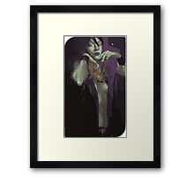 Morrigan Tarot Card Framed Print