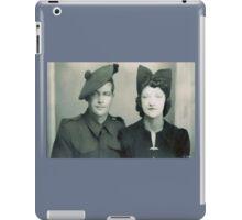 Mum and Brother Richard iPad Case/Skin