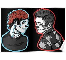 Josh Dun Cartoon Poster