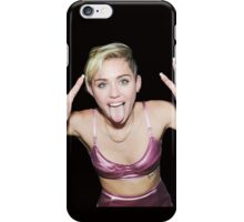 Fun Miley Cyrus by bas iPhone Case/Skin