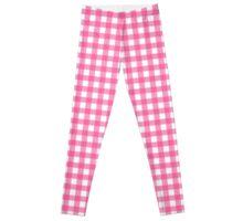 Pink printed Designer Fashion Leggings by Marijke Verkerk Design Leggings