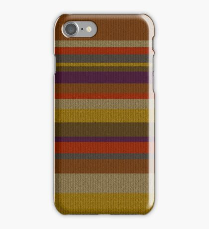 Fourth Doctor's Scarf iPhone Case/Skin