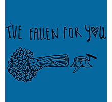 fallen for you Photographic Print