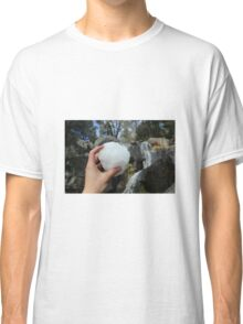 SNOWBALLS AND WATERFALLS  Classic T-Shirt