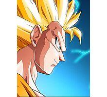 SSJ3 Goku Photographic Print