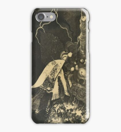 Karol Hiller  POLISH HELIOGRAPHIC COMPOSITION, V.  iPhone Case/Skin
