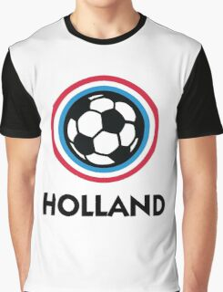 Football Crest Holland Graphic T-Shirt