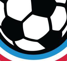 Football emblem of Netherlands Sticker