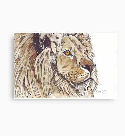 Dominion (African Lion) Canvas Print