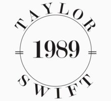 Taylor Swift 1989 - BW One Piece - Short Sleeve