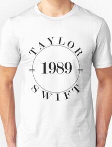 Taylor Swift 1989 - BW Unisex T-Shirt