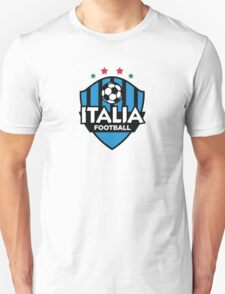 Football coat of arms of Italy Unisex T-Shirt