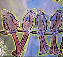 Four Disciples Singing (June 2007) by Infinite Path  Creations