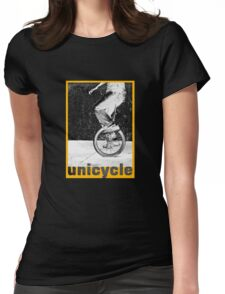 unicycle 2 Womens Fitted T-Shirt