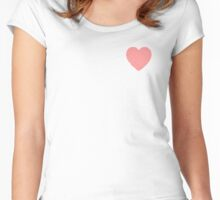 scratch love Women's Fitted Scoop T-Shirt