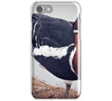 """ Gosh my feet are cold"" iPhone Case/Skin"