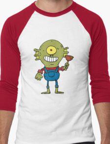 The Plumber Men's Baseball ¾ T-Shirt