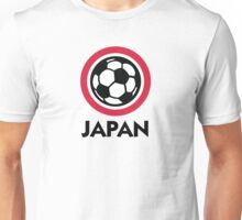 Football crest of Japan Unisex T-Shirt