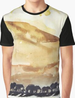 African Silhouettes Graphic T-Shirt