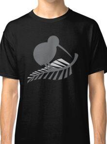 Kiwi Bird and a Silver fern New Zealand  Classic T-Shirt