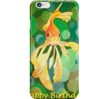 A Dream Is A Wish Your Carp Makes - Happy Birthday iPhone Case/Skin