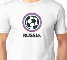 Football coat of arms of Russia Unisex T-Shirt