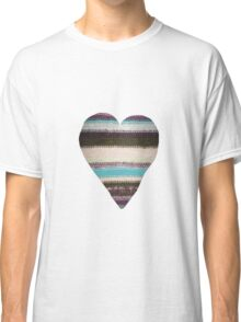 Made With Love Heart Classic T-Shirt