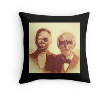 Gothic American Gothic Throw Pillow