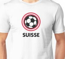 Football crest of Switzerland Unisex T-Shirt