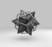 Caged Stellated Dodecahedron by ParThor