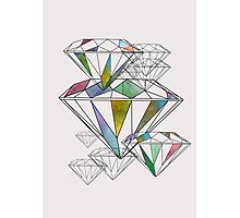 Diamonds Photographic Print