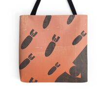 living with airstrikes - an illustrated guide Tote Bag