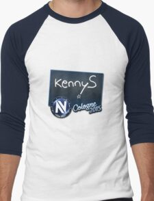 EnVy kennyS - Cologne 2015 Sticker Men's Baseball ¾ T-Shirt