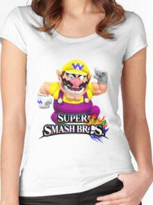 wario Women's Fitted Scoop T-Shirt