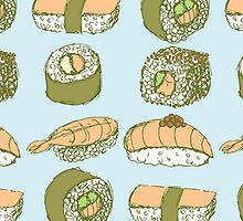Sushi Roll Pattern by sale