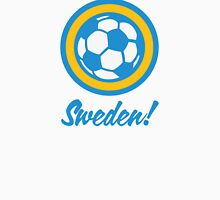 Football coat of arms of Sweden Unisex T-Shirt