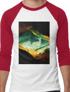 Native Dream Catchers Men's Baseball ¾ T-Shirt