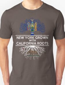 NEW YORK GROWN WITH CALIFORNIA ROOTS T-Shirt