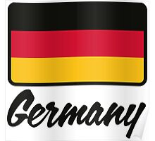 National flag of Germany Poster