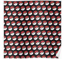Pokemon Pattern Poster