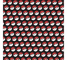 Pokemon Pattern Photographic Print