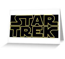 Trek Wars Greeting Card