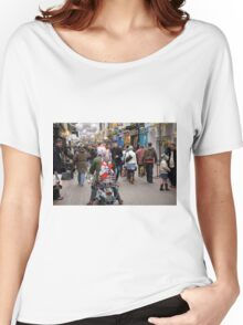 1960's scooter in Carnaby Street, London Women's Relaxed Fit T-Shirt