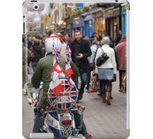1960's scooter in Carnaby Street, London iPad Case/Skin
