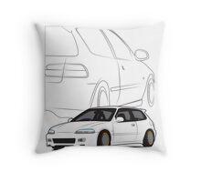 JDM Hatch Throw Pillow