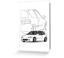 JDM Hatch Greeting Card