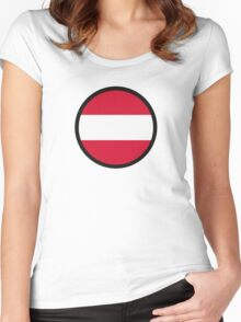 Marked by Austria Women's Fitted Scoop T-Shirt