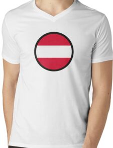 Marked by Austria Mens V-Neck T-Shirt