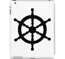 Nautical Ship's Wheel iPad Case/Skin